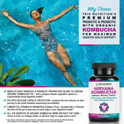 Maximum Digestive Health Support Probiotic, Prebiotic and Kombucha