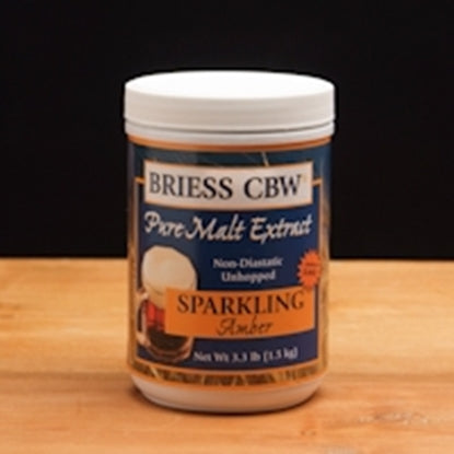 3.3 lb. Briess Sparkling Amber LME (Liquid Malt Extract) - The Brewmeister
