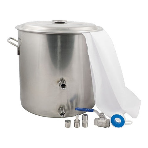14.5 Gallon Brewmaster Stainless Steel Kettle - The Brewmeister