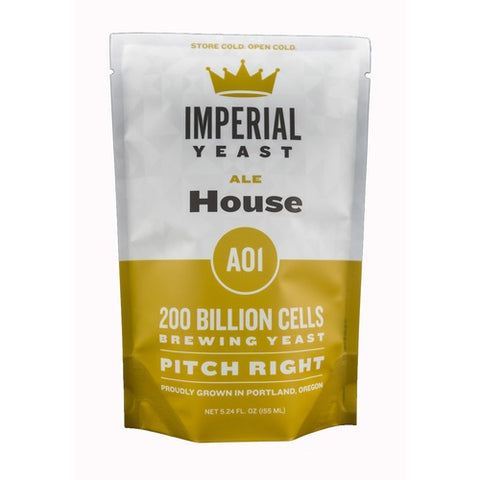 Imperial Organic Yeast - A01 House - The Brewmeister