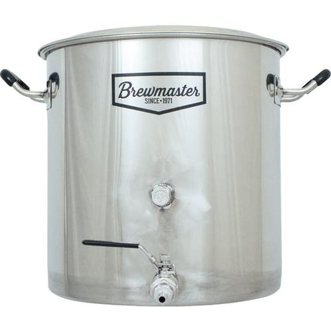 8.5 Gallon Brewmaster Stainless Steel Brew Kettle - The Brewmeister