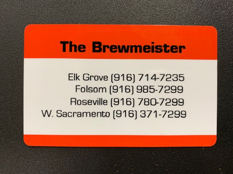 Gift Card (In-Store Redeeming Only) - The Brewmeister