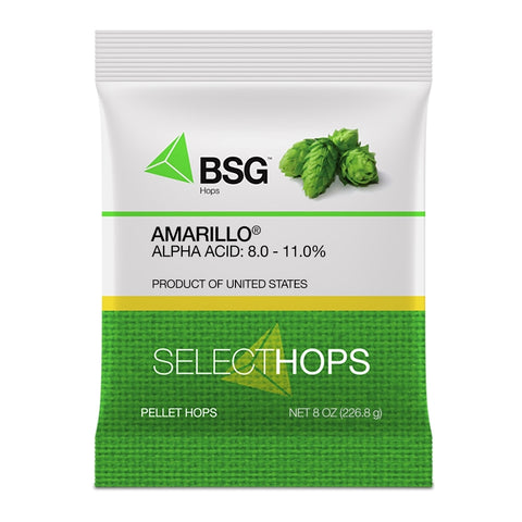 Amarillo Hop Pellets - The Brewmeister