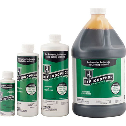 BTF Iodophor Sanitizer - 32 oz.-The Brewmeister