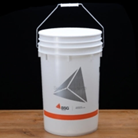 6.5 Gallon Plastic Bucket Food Grade with Lid - The Brewmeister
