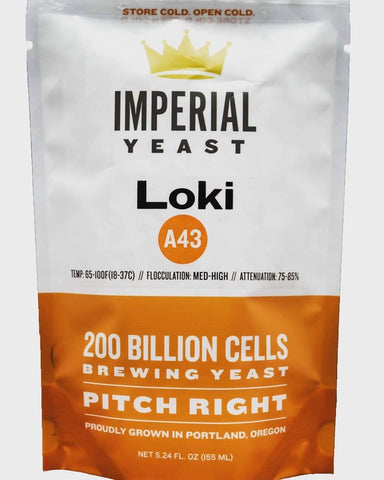 Imperial Organic Yeast - A43 Loki - The Brewmeister