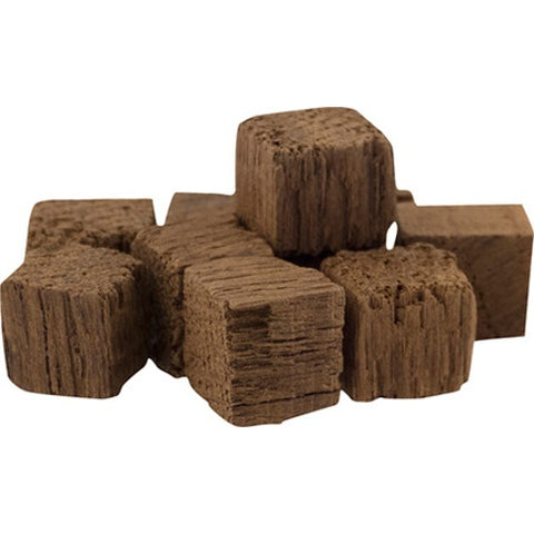 Oak Cubes - American Medium Toast 4 oz & 1 lb - The Brewmeister