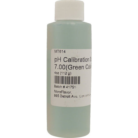 pH Calibration Solution 7.0pH - 4oz - The Brewmeister
