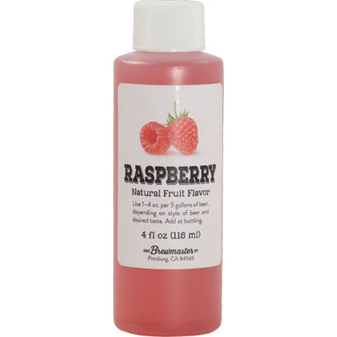 Raspberry Flavoring - Liquid 4oz - The Brewmeister