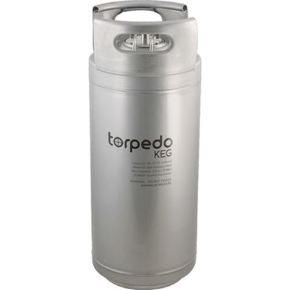 Torpedo 5 and 2.5 Gallon Ball Lock Keg - New - The Brewmeister