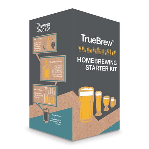 TrueBrew Homebrewing Starter Kit (Choose your Fermenter) - The Brewmeister