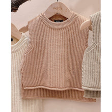 Load image into Gallery viewer, Baby Girl Pullover Sleeveless Sweater