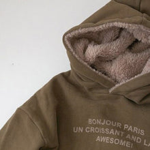 Load image into Gallery viewer, Bonjour unisex hoodie