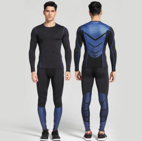 Men's MMA Long Compression Base Layer