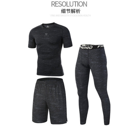 Compression Men's Running and Gym Base Layer