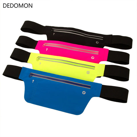 Unisex Multifunction Cycling Running Hip Money Belt Waist Bag