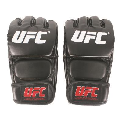 Black Fighting MMA Boxing Sports Leather Gloves