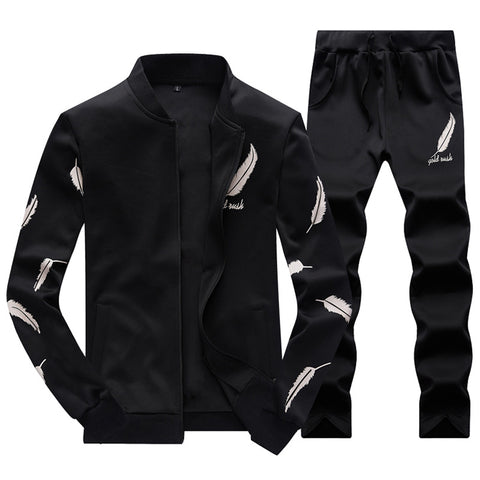 Men's Wing Printed Tracksuit