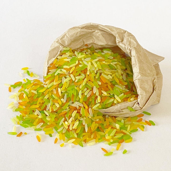 Sensory Scented Rice 175g - Spring Mix - Isaac's Treasures