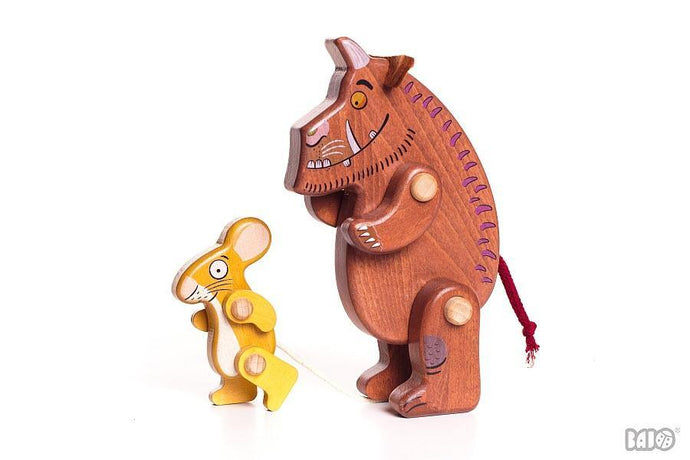 Bajo Gruffalo and Mouse Figures