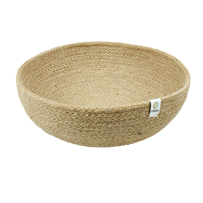 ReSpiin Jute Bowl Large Natural