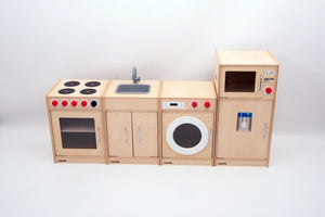 Wooden 5-Feature Kitchen - FREE POSTAGE