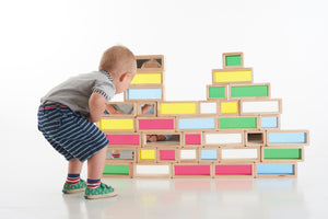 Rainbow Bricks - Pk36 - FREE POSTAGE