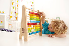 Load image into Gallery viewer, Hape Rainbow Bead Abacus