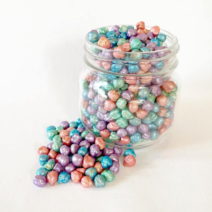 Sensory Scented Beans 175g - Pearl Mix - Isaac's Treasures