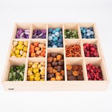 Load image into Gallery viewer, Tickit Wooden Sorting Tray - 14 Way