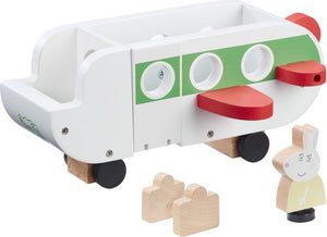 Peppa's Wood Play Aeroplane & Figure