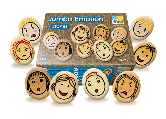 Yellow Door Jumbo Emotion Stones