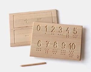 Numbers Tracing Board