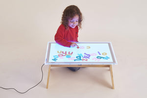 A2 Colour Changing Light Panel & Table Set - FREE POSTAGE