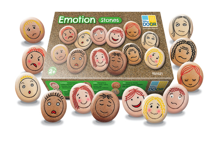 Yellow Door Emotion Stones