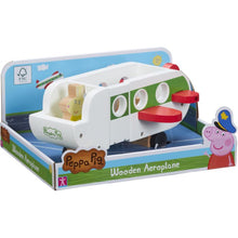 Load image into Gallery viewer, Peppa's Wood Play Aeroplane & Figure