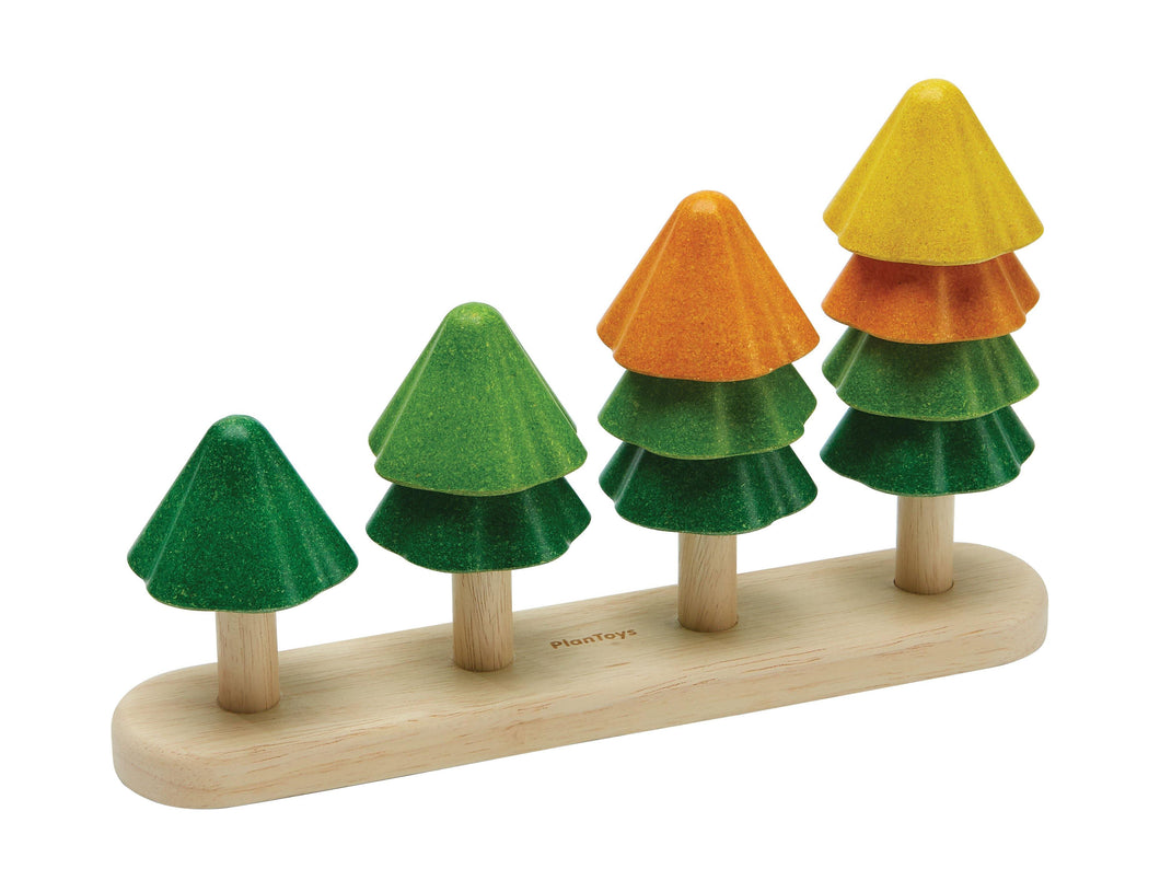 Plan Toys Sort & Count Trees - Isaac's Treasures