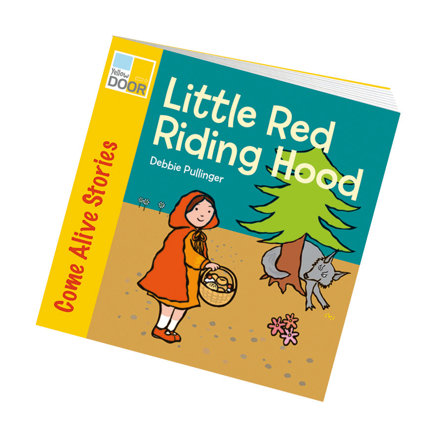Yellow Door Little Red Riding Hood Story Book