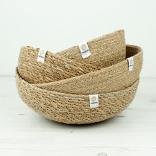 Load image into Gallery viewer, ReSpiin Jute Bowl Large Natural