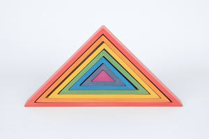 Rainbow Architect Triangles - 7Pc