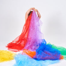Load image into Gallery viewer, Tickit Rainbow Organza Fabric - 7 Colour Options
