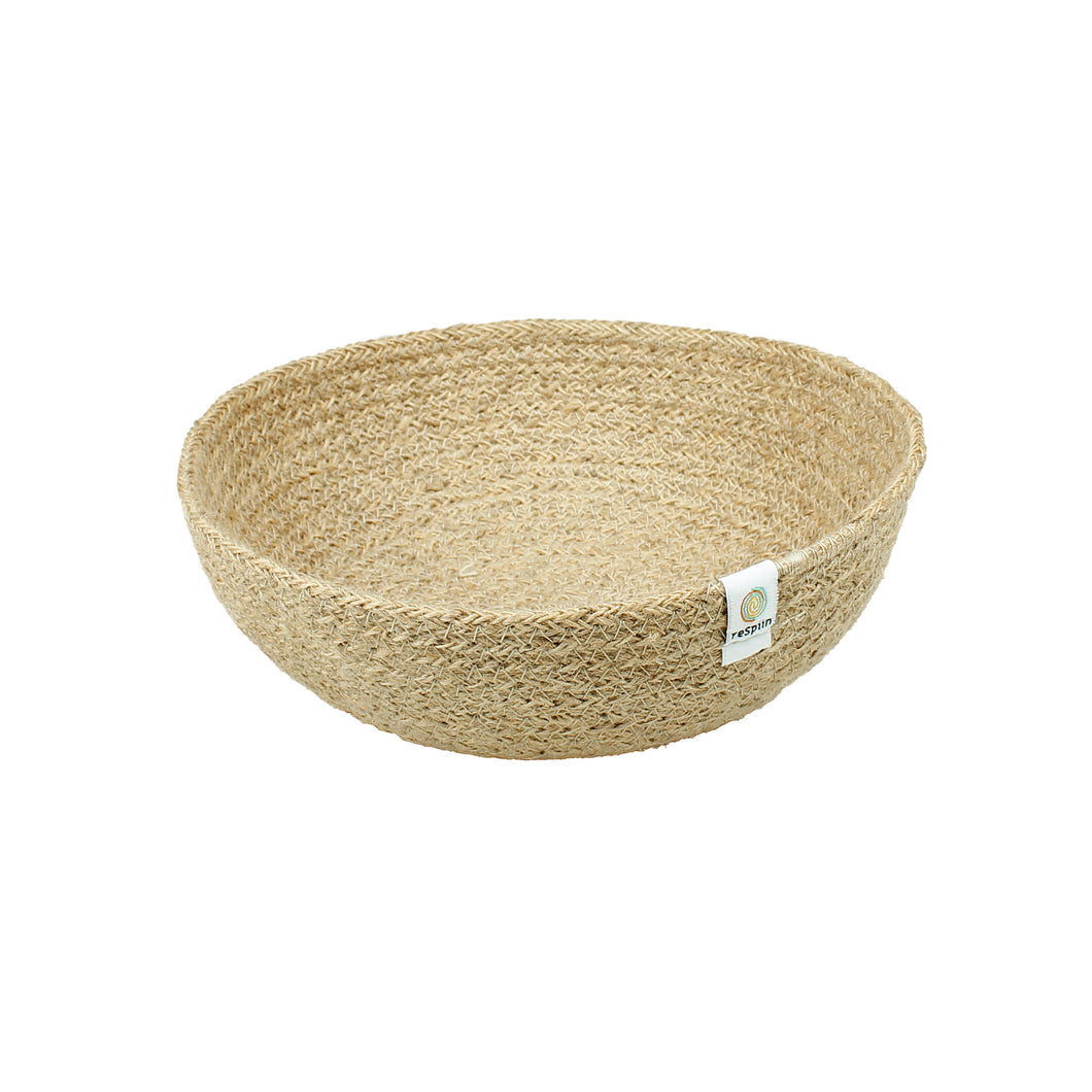 ReSpiin Jute Bowl Medium Natural