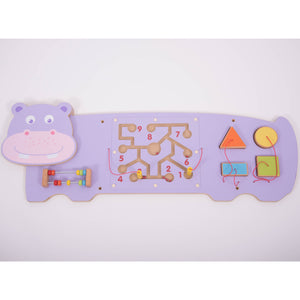 Hippo Activity Wall Panel - FREE POSTAGE