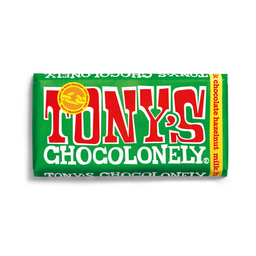 Tony's Chocolonely Fairtrade Milk Hazelnut 180g