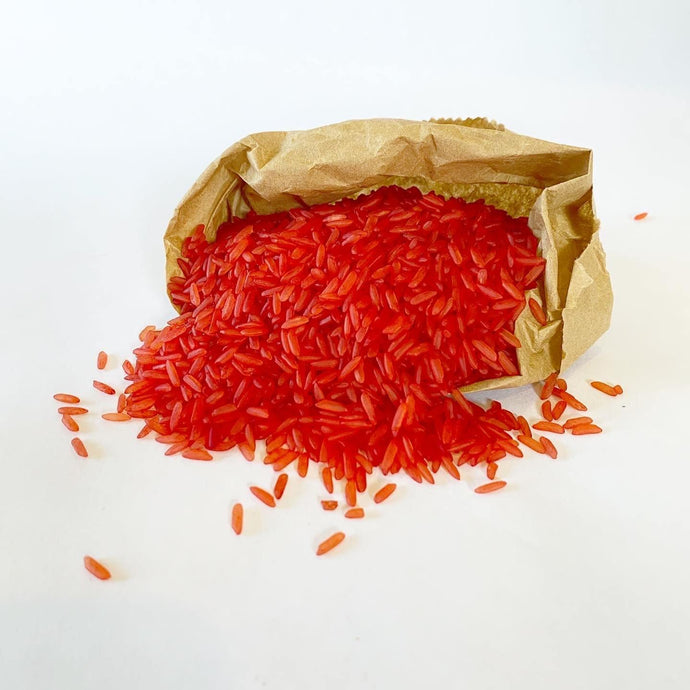 Sensory Scented Rice 175g - Red - Isaac's Treasures