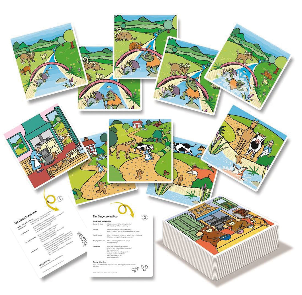 Yellowdoor Traditional Tales Story Talk Cards