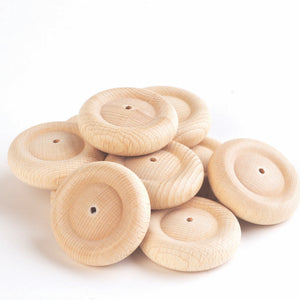 Tickit Loose Parts Small Wooden Wheel 40mm