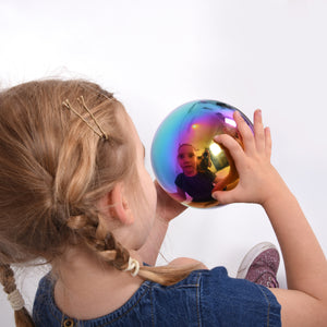 Sensory Reflective Colour Burst Balls - Pk4