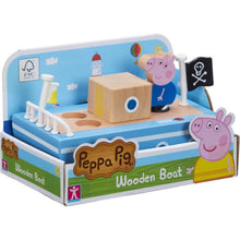 Load image into Gallery viewer, Peppa's Wood Play Boat & Figure