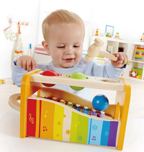 Load image into Gallery viewer, Hape Early Melodies Pound & Tap Bench